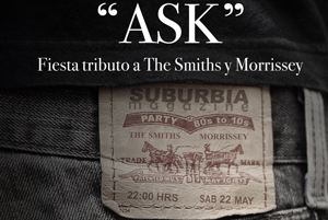 ASK. Fiesta tributo a Smiths y Morrissey